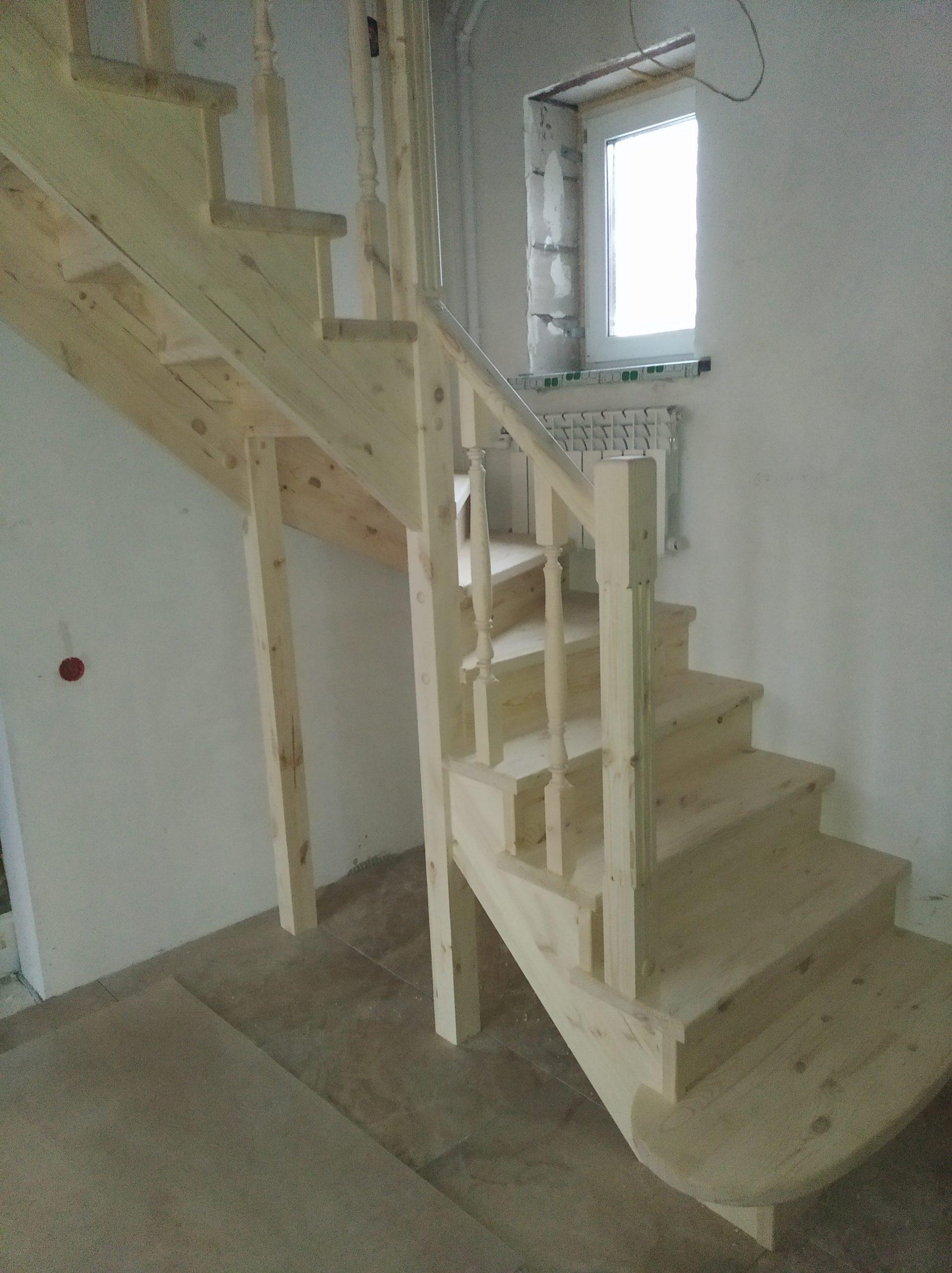 Закажите деревянную лестницу от производителя 89128845334